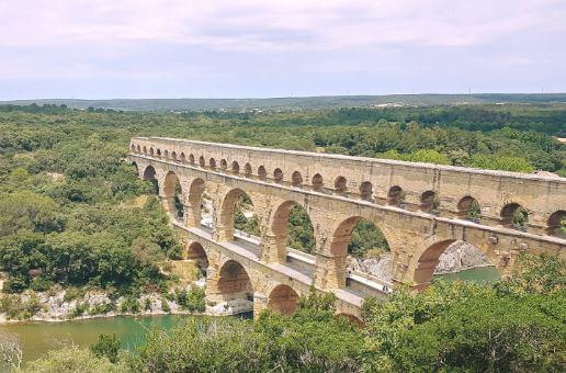 Der Pont du Gard gehört zum Weltkulturerbe