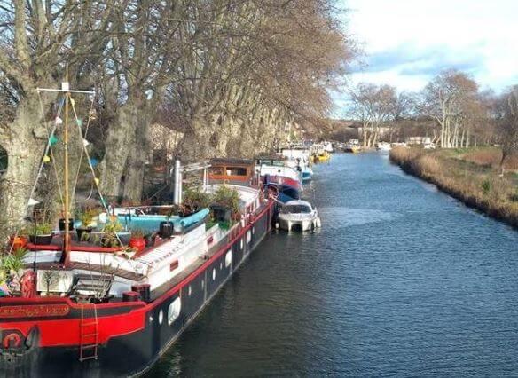 Im Urlaub in Südfrankreich entlang des Canal du Midi