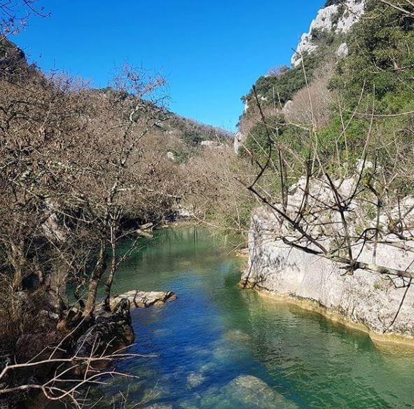 Urlaub und Wandern Südfrankreich - Eine tolle Landschaft Le Ravin des Arcs
