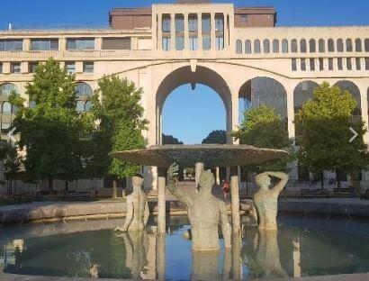 Urlaub Südfrankreich - schau dich mal um in Montpellier im Antigone