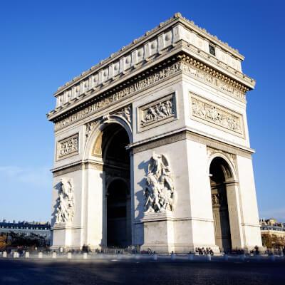 Feiertage Frankreich - Arc de Triomphe