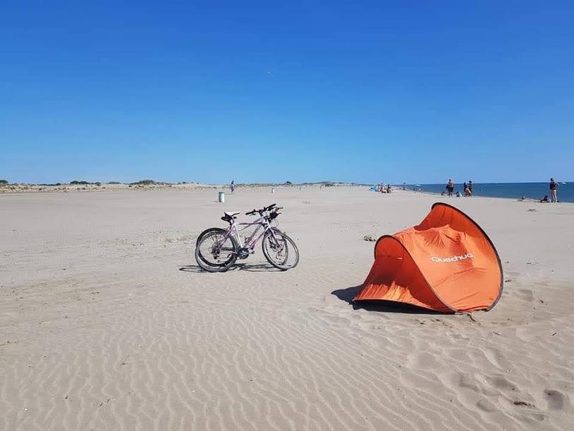Montpellier Strand - Rad ausleihen von TAM