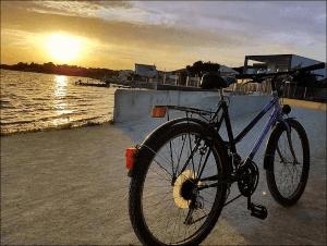 Montpellier Strand - eine schöne Radtour