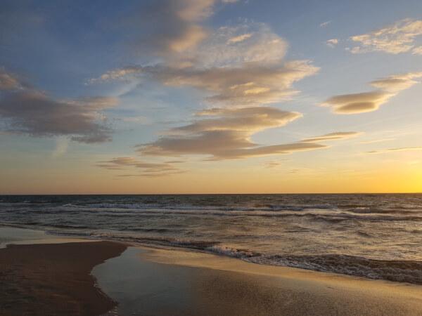 Am schönen Strand von Espiguette