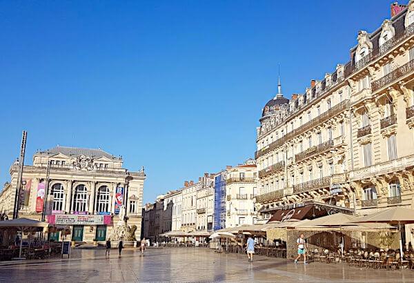 ZU den beliebtesten Sehenswürdigkeiten in Montpellier gehört die COmedie