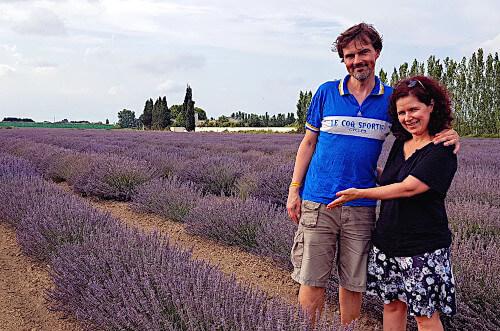Lavendel kaufen Boutique - Nicole-und-Mika-Lavendelfelder